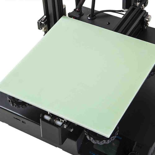 3D Removable Platform Hot Heated Bed Fiber Glass Plate
