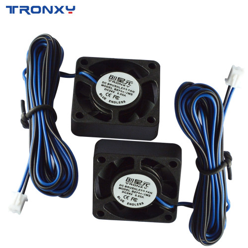 Tronxy 24V Extruder Fan for Mainboard Radiator, with Blue-black line
