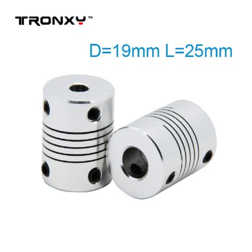 Flexible Shaft Coupler use for 3d printer Z axis Coupling(5 pcs)