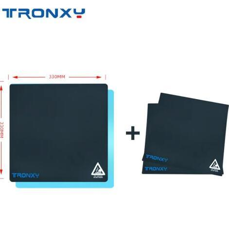 Tronxy Aluminum Plate and 3 Sticker, for Automatic Leveler