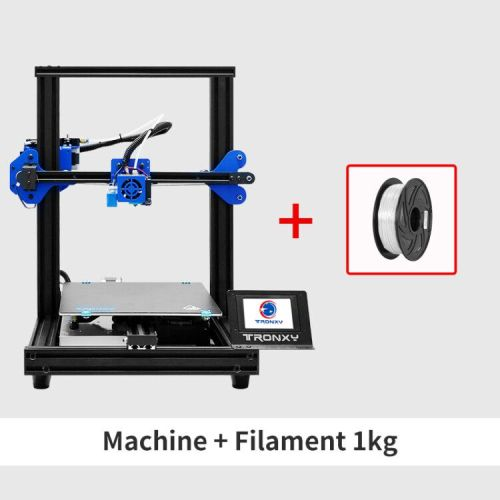 TRONXY 3D Printer XY-2 Pro 255*255*260mm + Hotend/PLA Filament (Combined offers)