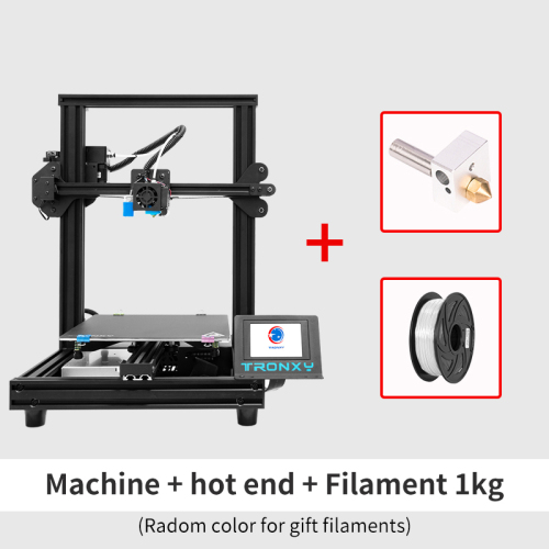 TRONXY 3D Printer XY-2 Pro Titan 255*255*260mm + Hotend/PLA Filament (Combined offers)