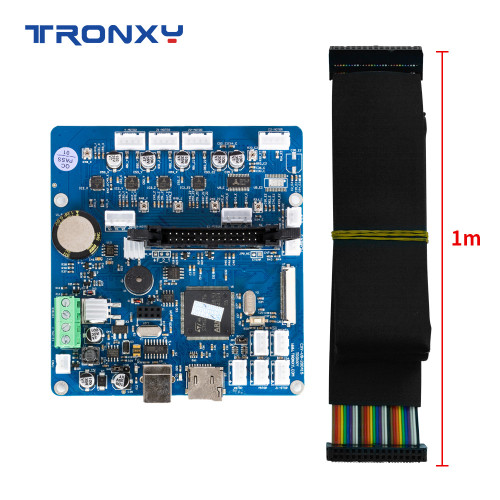 Tronxy Silent Mainboard with Wire Cable for X5SA-500 Series