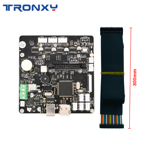 Tronxy Silent Mainboard with Wire Cable for X5SA Series X5SA-400 Series and XY-2 Pro Series