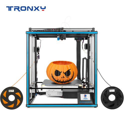 Tronxy 2E Sereis Mix-Color 3D Printer with Dual Extruder X5SA-2E/X5SA-400-2E/X5SA-500-2E 3D Printer