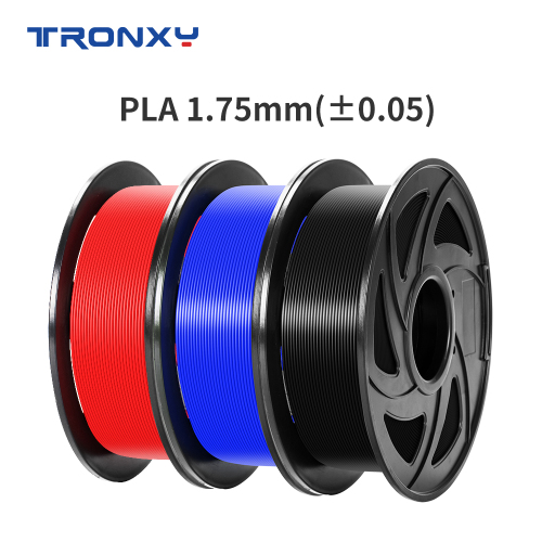 Tronxy New 1.75mm PLA Filament Original Manufactured by Tronxy (Random Color)