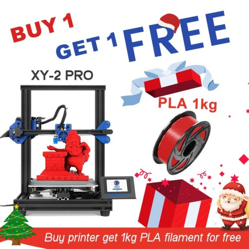 TRONXY 3D Printer XY-2 Pro 255*255*260mm +PLA Filament Gift