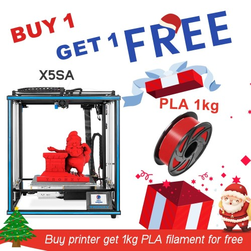 TRONXY X5SA 24V 3D Printer 330*330*400mm + PLA 1KG Filament for FREE