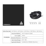 Tronxy Black TR Auto Leveling Sensor + Lattice Glass Plate