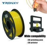 3D Flexible Yellow TPU Filament 1.75 mm, 2.2 LBS (1KG)