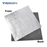 Heated Bed Insulation Foam  Self-adhesive Aluminum Foil Sticker Heat Sound Insulation Sheet 3D Printer Parts