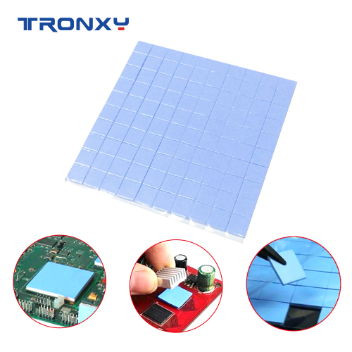 Tronxy GPU CPU heatsink cooling conductive silicone pad thermal pad