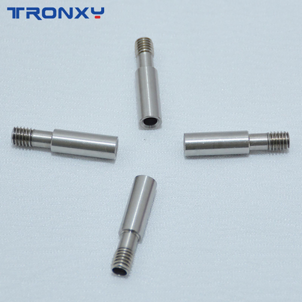 Teflon throat steel extruder nozzle (5 pcs)