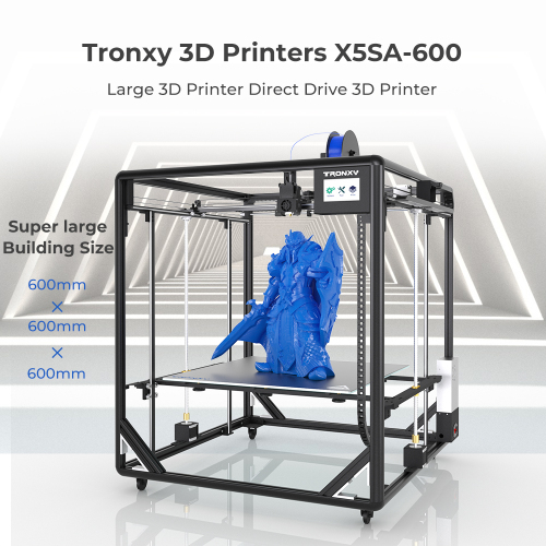 Tronxy X5SA-600 Large 3D Printer Direct Drive 3D Printer 600*600*600mm