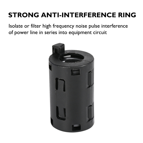 Strong anti-interference magnetic ring for 3D printer accessories