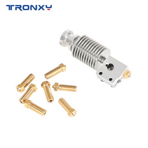 Tronxy HeatSink Heater Block Heat Break V6 Volcano NOZZLE For E3D HOTEND