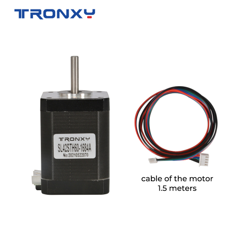 Tronxy 3D printer parts SL42STH60-1684A  Motor with 1.5m cable