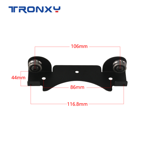 Tronxy 3D Printer Filament stable smooth metal bracket material rack(2pcs)