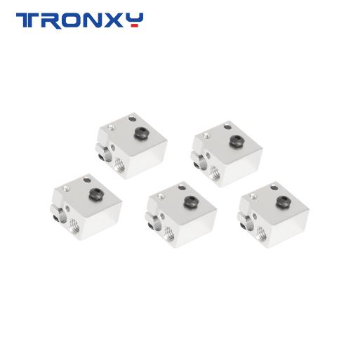 Tronxy 3d printer parts V6 Volcano NOZZLE Heated Block