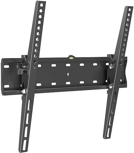 (EU EXCLUSIVE)  PUTORSEN® TV Wall Bracket, Tilt Sturdy Strong TV Wall Mount for 32-55 inch TVs, Max VESA 400x400mm, 40 kg Weight Capacity