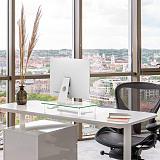 (EU EXCLUSIVE)PUTORSEN® Monitor Stand Riser for Computer, Laptop, Desk, Printer, 15.7 x 9.4 Inch Tempered glass (2 Pack)
