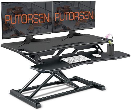 Standing Desk Height Adjustable Sit, Standing Desk Platform