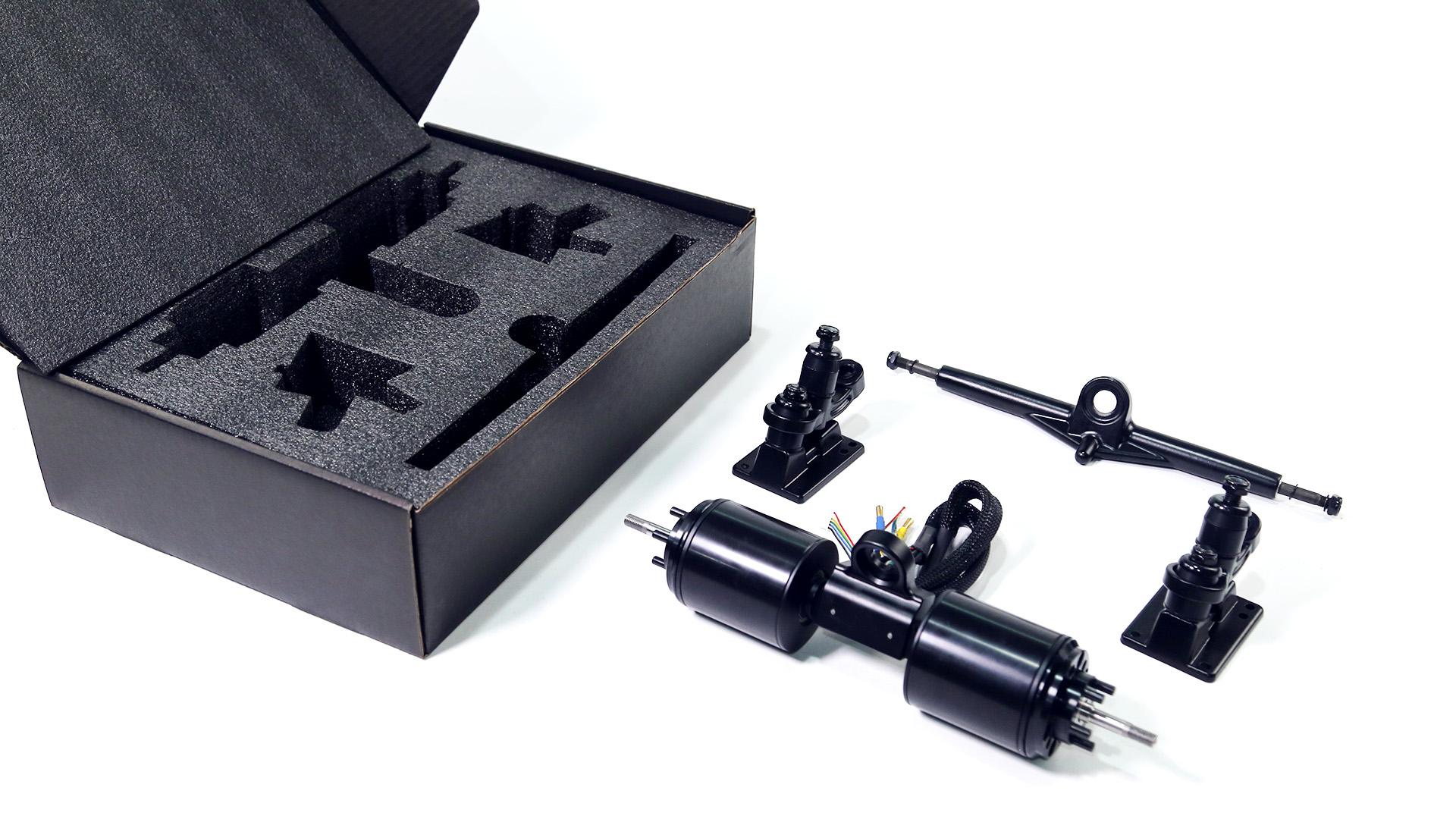 FOC Direct Drive Motor Kit for electric skateboard diy