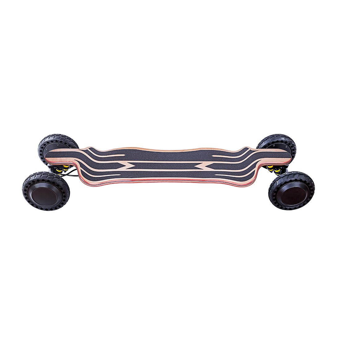 Seeker AT s1 vesc6 based 21700 12s3p battery 190mm rubber wheel  all-terrain electric skateboard