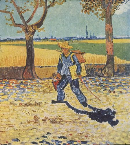 Painter on the Road to Tarascon, August 1888