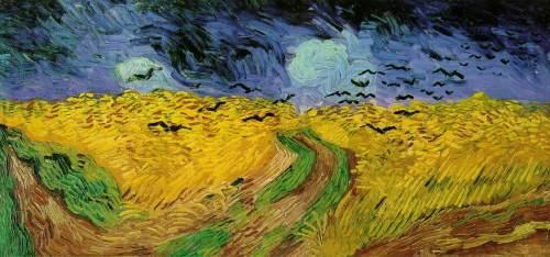 Wheatfield with Crows, 1890, Van Gogh Museum, Amsterdam