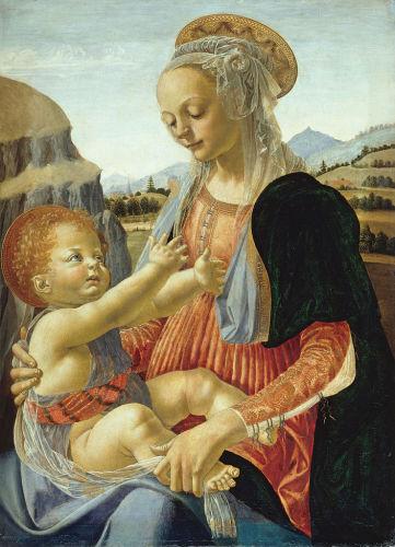 Small devotional picture by Verrocchio