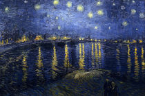 Starry Night Over the Rhone, 1888, Musée d'Orsay, Paris