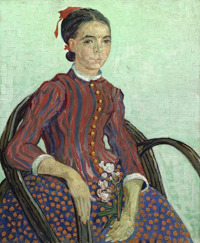 La Mousmé, 1888, National Gallery of Art, Washington D.C