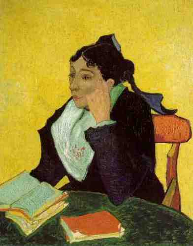 L'Arlésienne: Madame Ginoux with Books, November 1888