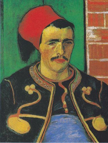 Le Zouave (half-figure), June 1888. Van Gogh Museum, Amsterdam