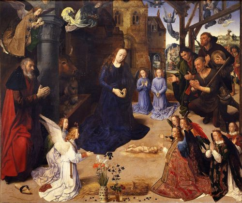 The Portinari Altarpiece, by Hugo van der Goes for a Florentine family