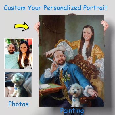 Custom Personalized Oil Portraits From Photos