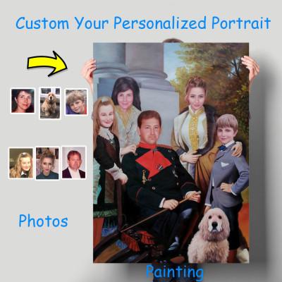 50% Deposit Start Your Portrait