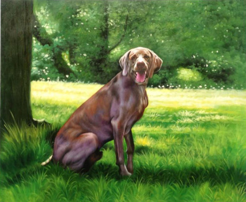 Custom pet portrait, Hand painted oil painting on canvas, Pet painting, Turn photos into oil portraits paintings