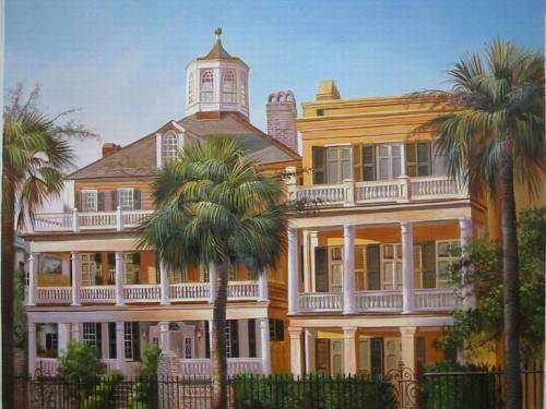 Custom house portrait, Hand painted oil painting on canvas, Turn photos into oil portraits paintings