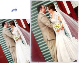 Custom wedding portrait, wedding painting, Hand painted oil painting, portrait painting from photos