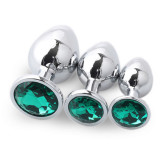 Stainless Steel Metal Butt Plug(S)(2 Sets)