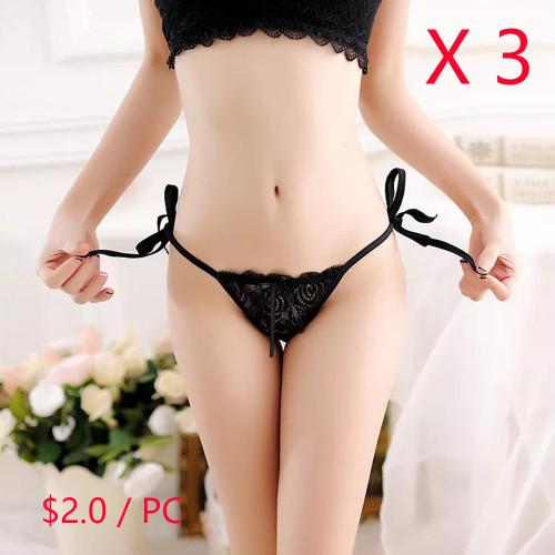 Sexy T-back Panties(3 Sets)