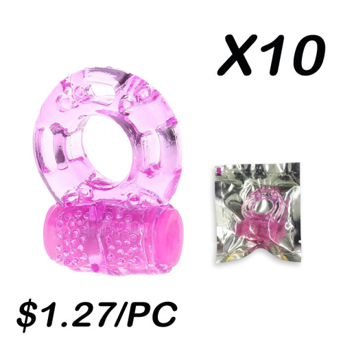Vibrating Cock Ring(10 Sets)