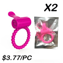 Vibrating Cock Ring(2 Sets)