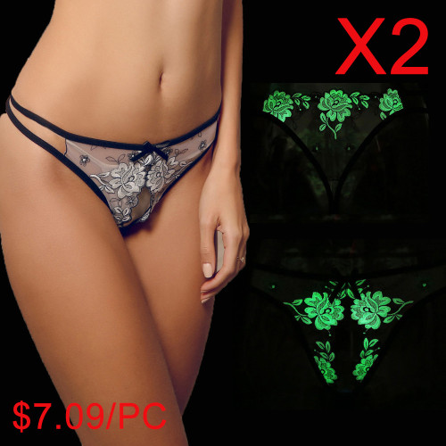 Luminous sexy panties(2 Sets)