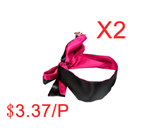 Eye Patch Mask Ribbon Bondage BDSM Flirt