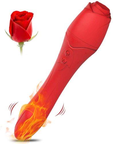 Rose Heating Vibrator