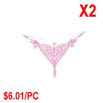 Heart-shaped sexy underwear