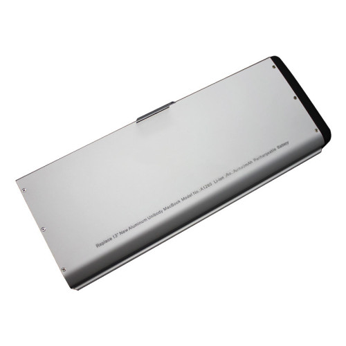 A1280 Aluminum Upgraded casing Laptop Battery for Apple MacBook 13  A1278 (2008 Version) MB466LL/A MB466 MB771LLA MB771